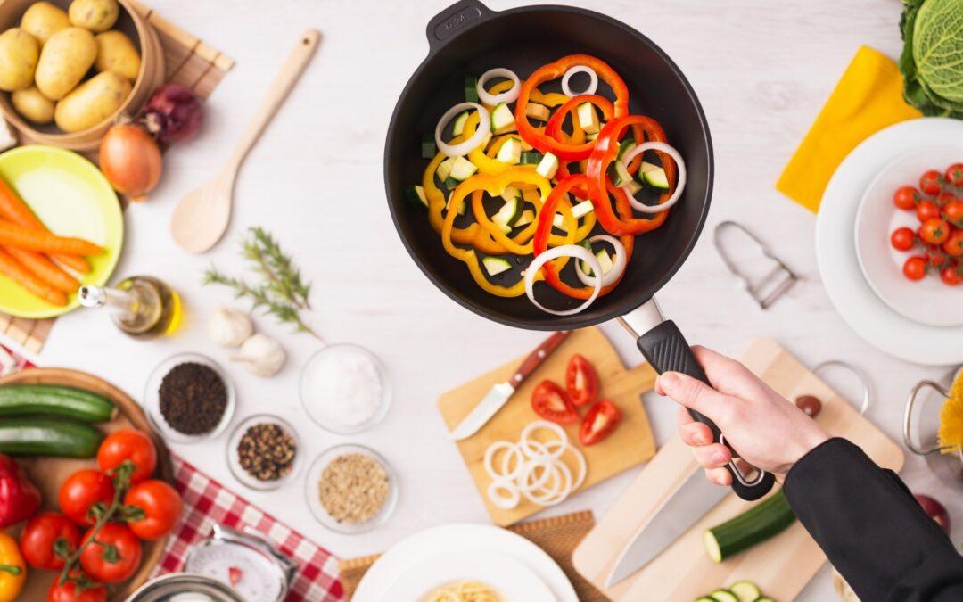 Comer sano de manera organizada